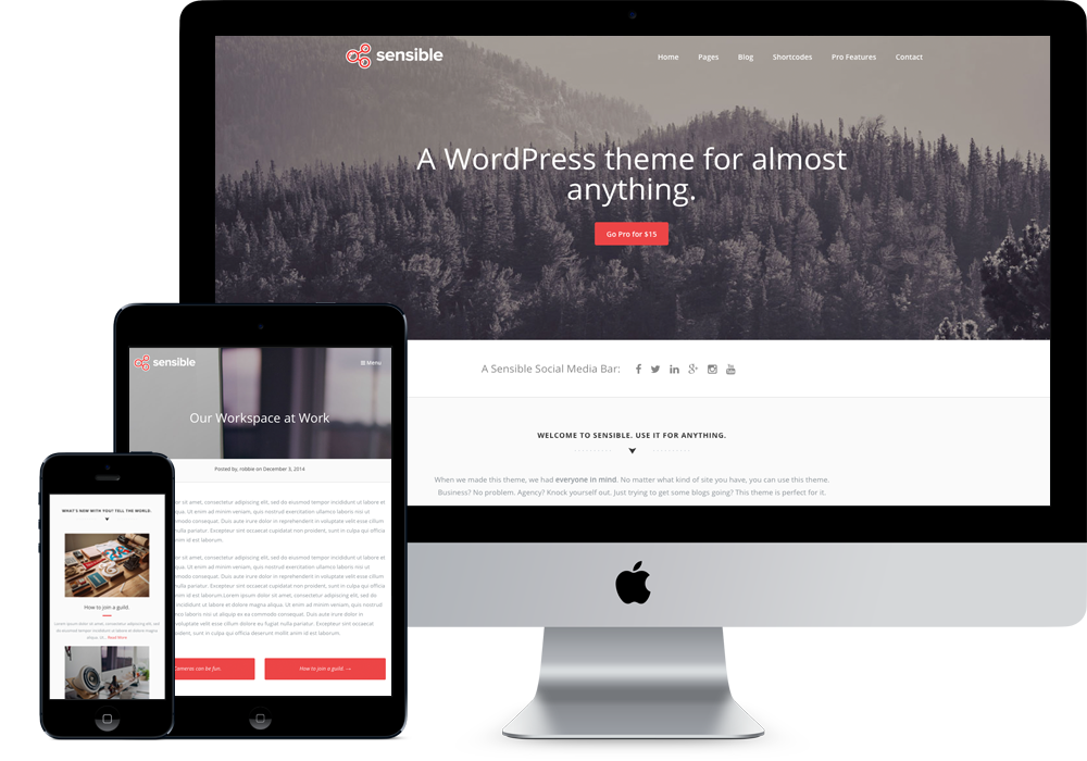 world press templates - sensible modern themes