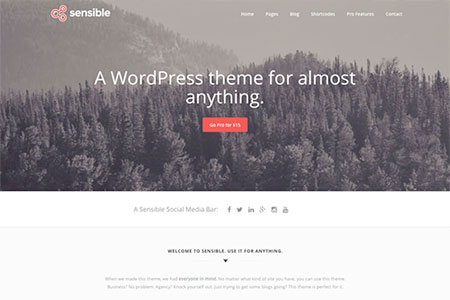 Free WordPress Themes For a Better Web - Modern Themes