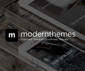 Modern Themes - Free and Premium WordPress Themes